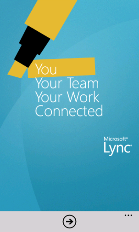 Overview of Lync Mobile for Windows Phone 7