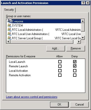 Unable to move Lync user DCOM error | Bibble-IT com