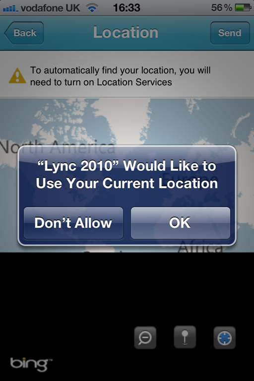 Overview of Lync Mobile for iPhone