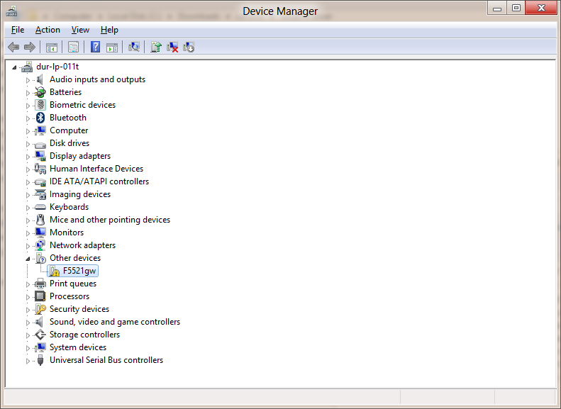 F5521GW WWAN install on Windows 8 CP (Lenovo X220t) | Bibble