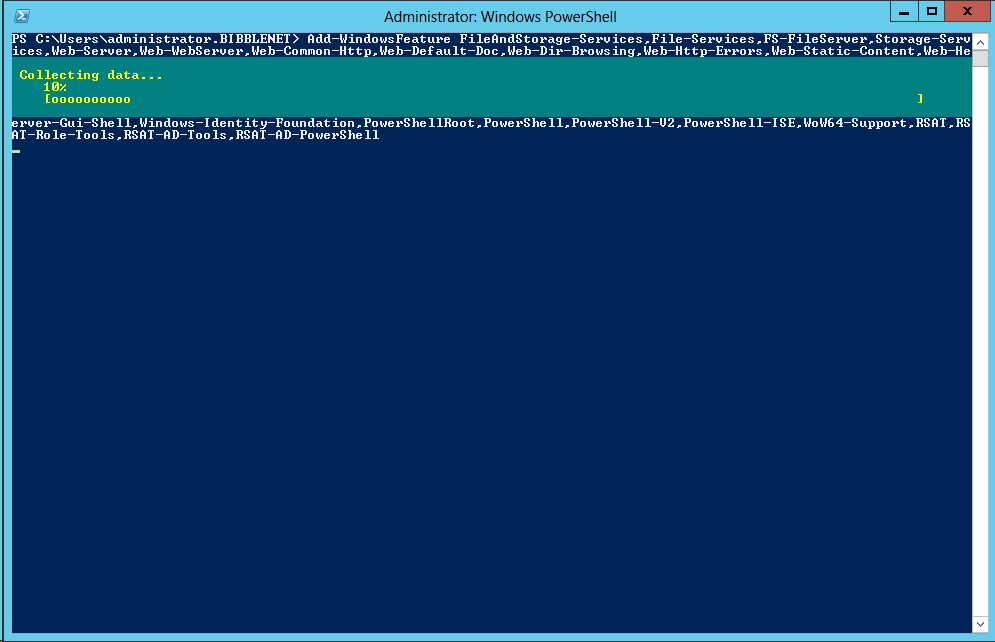 Lync 2013 pre-requisite install